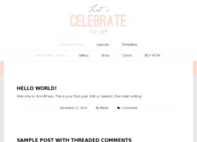 celebrate.prettysimplewebsites.com