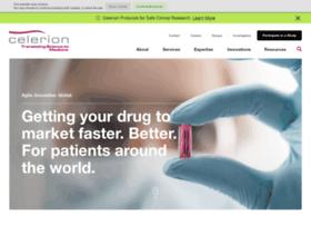 celerion.com