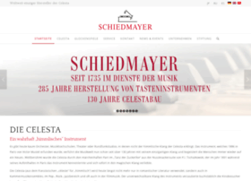 celesta-schiedmayer.de