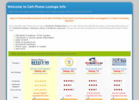 cell-phone-lookups.info