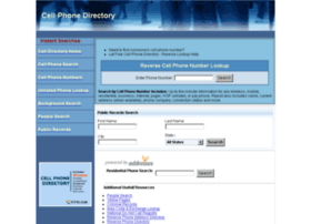 cellphonedirectory.com