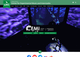 cemi.music.unt.edu
