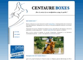 centaure-boxes.com