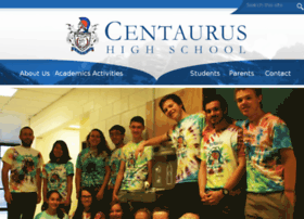 centaurushs.edlioschool.com