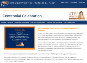 centennial.utep.edu