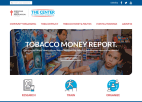 center4tobaccopolicy.org