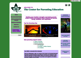 centerforparentingeducation.org