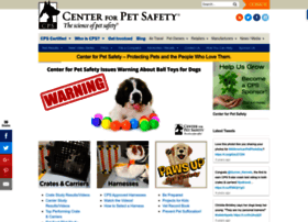 centerforpetsafety.org
