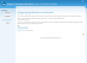 centerofcosmeticdentistry.com