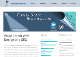 centerstagewebdesign.com