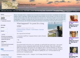 central-america-forum.com