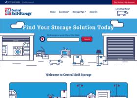 centralselfstorage.com