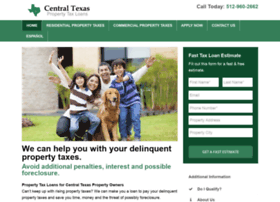 centraltexaspropertytaxloans.com