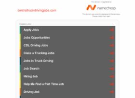 centraltruckdrivingjobs.com