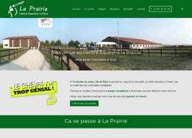 centre-equestre-la-prairie.com info. Centre équestre Poney ...