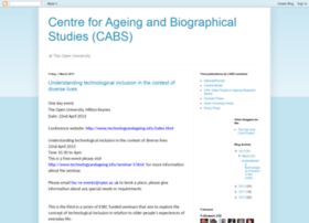 centreforageingandbiography.blogspot.co.uk