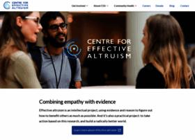 centreforeffectivealtruism.org