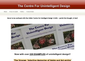 centreforunintelligentdesign.yolasite.com