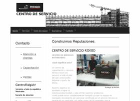 centrodeservicioridgid.com.mx