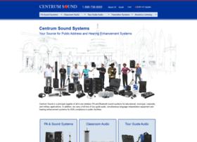 centrumsound.com