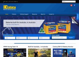 centurybatteries.com
