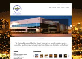 centuryelectricandlightingsupply.com