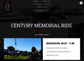 centurymemorialride.org