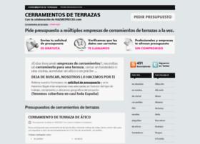 cerramientosdeterrazas.org