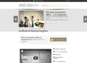 certificadodeeficienciaenergetica.com