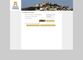 certificadosviajeweb.eivissa.es