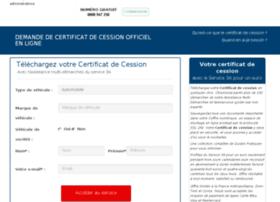 certificat-cession.aide-admin.com