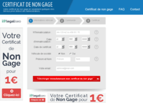 certificat-non-gage-immediat.org