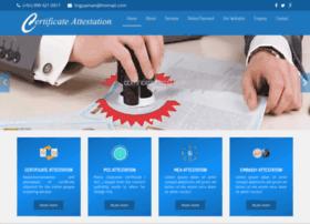 certificateattestationdelhi.co.in