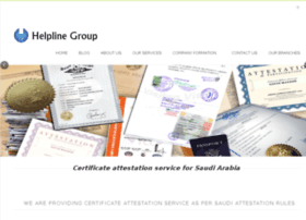 certificateattestationforsaudi.com