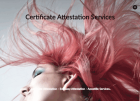certificateattestationservices.com