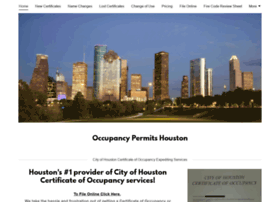 certificateofoccupancy.com