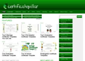 certificatepillar.com