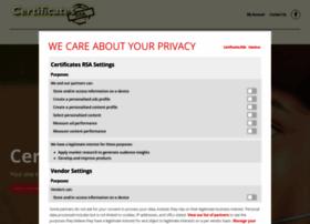 certificatesrsa.co.za