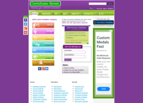 certificatestreet.com