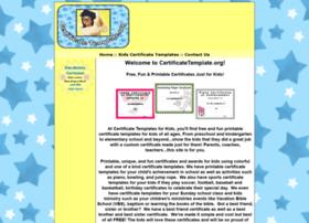 certificatetemplate.org