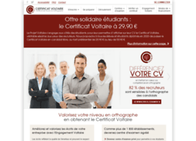 certification-voltaire.fr
