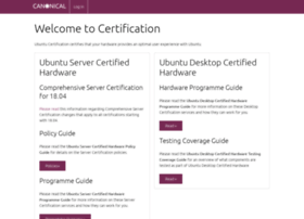 certification.canonical.com