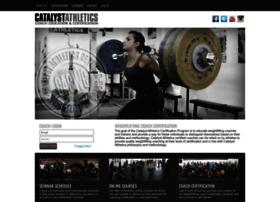 certification.catalystathletics.com