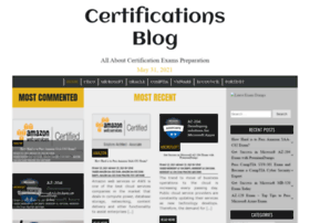 certificationsblog.net