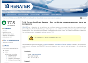 certificats.renater.fr