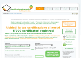 certificazioneenergeticaonline.com