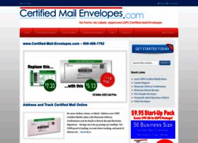 certified-mail-envelopes.com