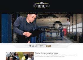certifiedautobody.com