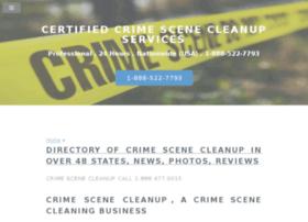 certifiedcrimescenecleanup.com