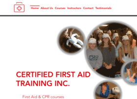 certifiedfirstaid.us